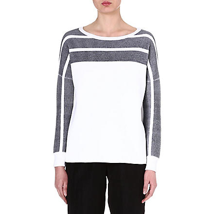RAG & BONE Smammi knitted jumper (White