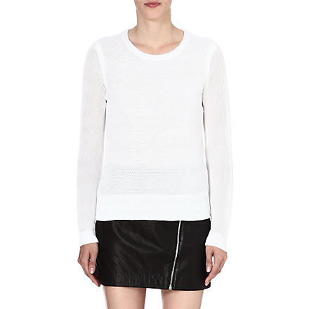 RAG & BONE Alexa knitted jumper (White