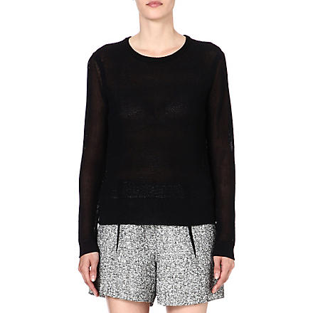 RAG & BONE Alexa knitted jumper (Black