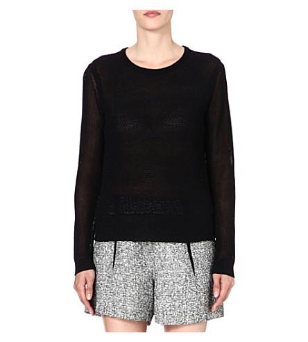 RAG & BONE Alexa knitted jumper (Black