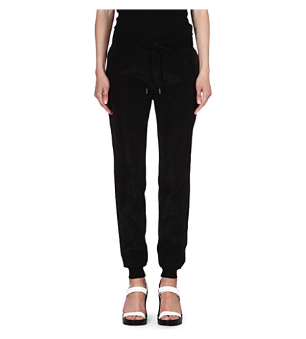 RAG & BONE Lena crepe trousers (Black