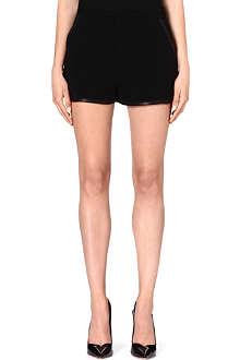 RAG & BONE Plantini crepe shorts