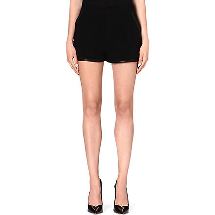 RAG & BONE Plantini crepe shorts (Black