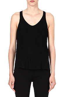 RAG & BONE Chieftan crepe top