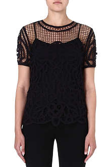 RAG & BONE Nancy lace top