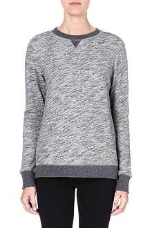 RAG & BONE Oversized jersey sweatshirt