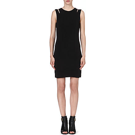 RAG & BONE Vela crepe-jersey dress (Black