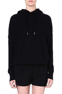 RAG & BONE Black cotton hoody