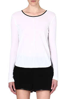 RAG & BONE Rose long-sleeved jersey top