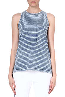 RAG & BONE Bowery striped cotton vest