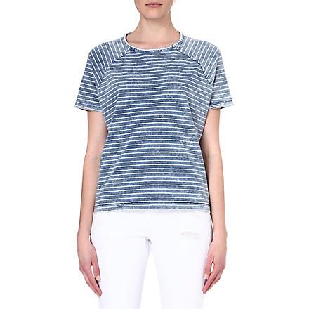 RAG & BONE Camden cotton t-shirt (Indigo