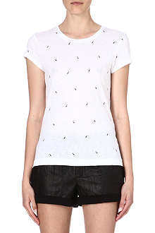 RAG & BONE Bird print basic t-shirt