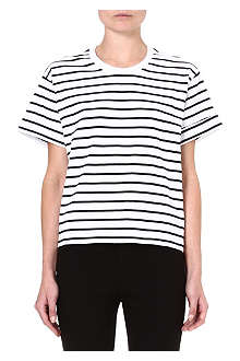 RAG & BONE Striped cotton t-shirt