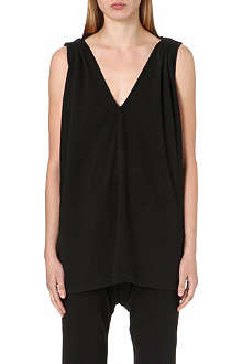 DRKSHDW Sleeveless caped top