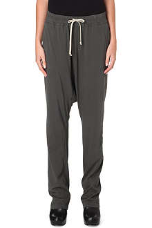 DRKSHDW Drop crotch drawstring trousers