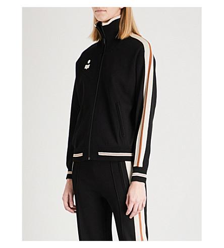 ISABEL MARANT ETOILE Darcy knitted jacket (Black