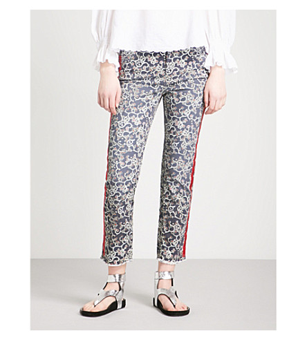 ISABEL MARANT ETOILE Ugo cigarette mid-rise jeans (Midnight