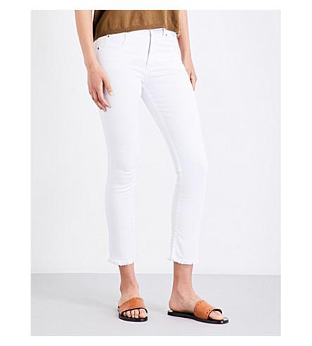 ISABEL MARANT ETOILE Padova skinny mid-rise jeans (White