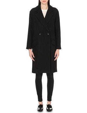 IRO Brannon linen and wool-blend coat