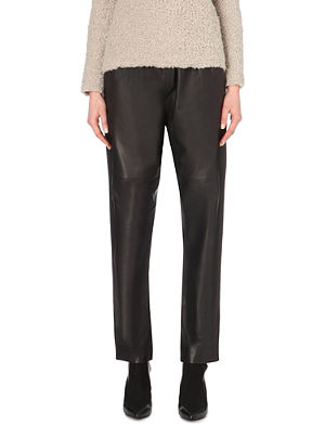 IRO Gao leather trousers