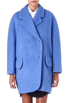 CARVEN Oversized felt coat