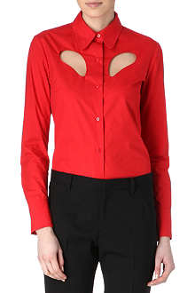 CARVEN Cut-out shirt