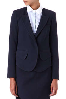 CARVEN Double-crepe jacket
