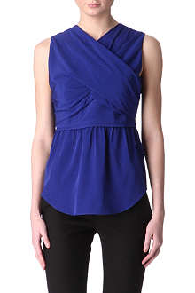CARVEN Criss-cross top