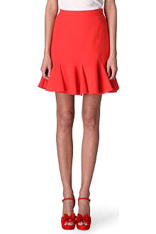 CARVEN Flared-hem skirt