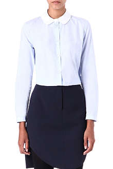 CARVEN Contrast-collar shirt