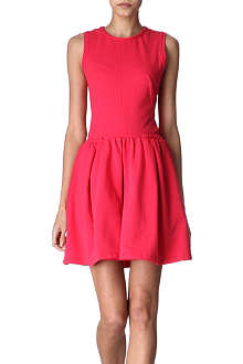 CARVEN Molleton dress