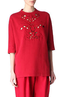 CARVEN Cut-out top