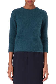 CARVEN Knitted angora jumper