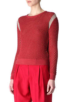 CARVEN Thread-shoulder jumper