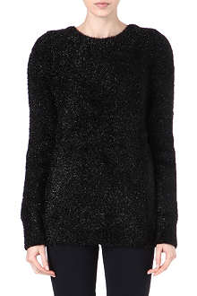 CARVEN Fancy textured knitted jumper