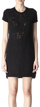 CARVEN Rope-embroidered dress