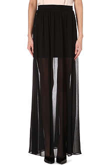 ALICE & OLIVIA Sheer maxi skirt