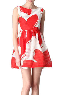 ALICE & OLIVIA Essie sleeveless full skirt dress