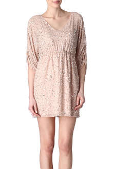 ALICE & OLIVIA Olympia sequinned silk dress