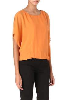 ALICE & OLIVIA Strayla draped top