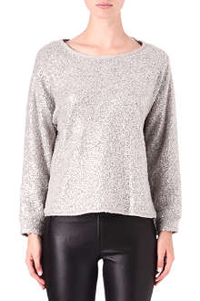 ALICE & OLIVIA Mayer sequin sweatshirt