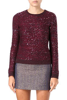 ALICE & OLIVIA Macy sequined jumper