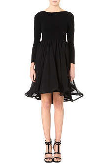 ALICE & OLIVIA Babydoll flared-skirt dress