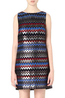 ALICE & OLIVIA Donovan jacquard dress