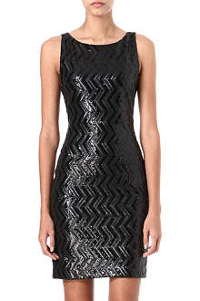ALICE & OLIVIA Aviana sequinned dress