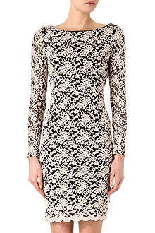 ALICE & OLIVIA Khloe open-back dress