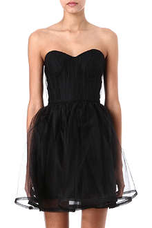 ALICE & OLIVIA Strapless tulle dress