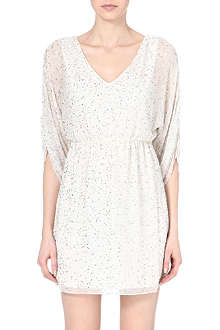 ALICE & OLIVIA Olympic emblellished silk dress