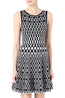 ALICE & OLIVIA Jasiey stretch-knit dress