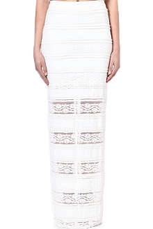 ALICE & OLIVIA Lace maxi skirt